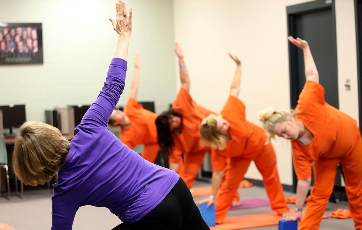 Scott County Jail yoga