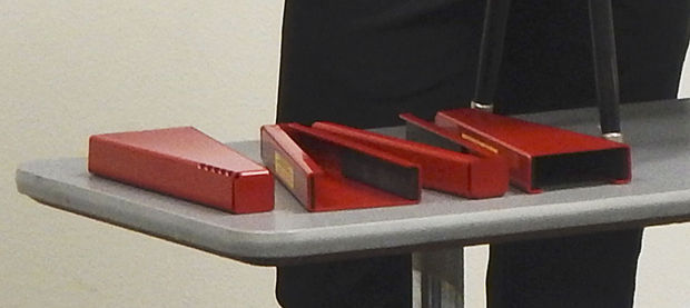 Muscatine Teachers Invent Anti Intruder Device Local
