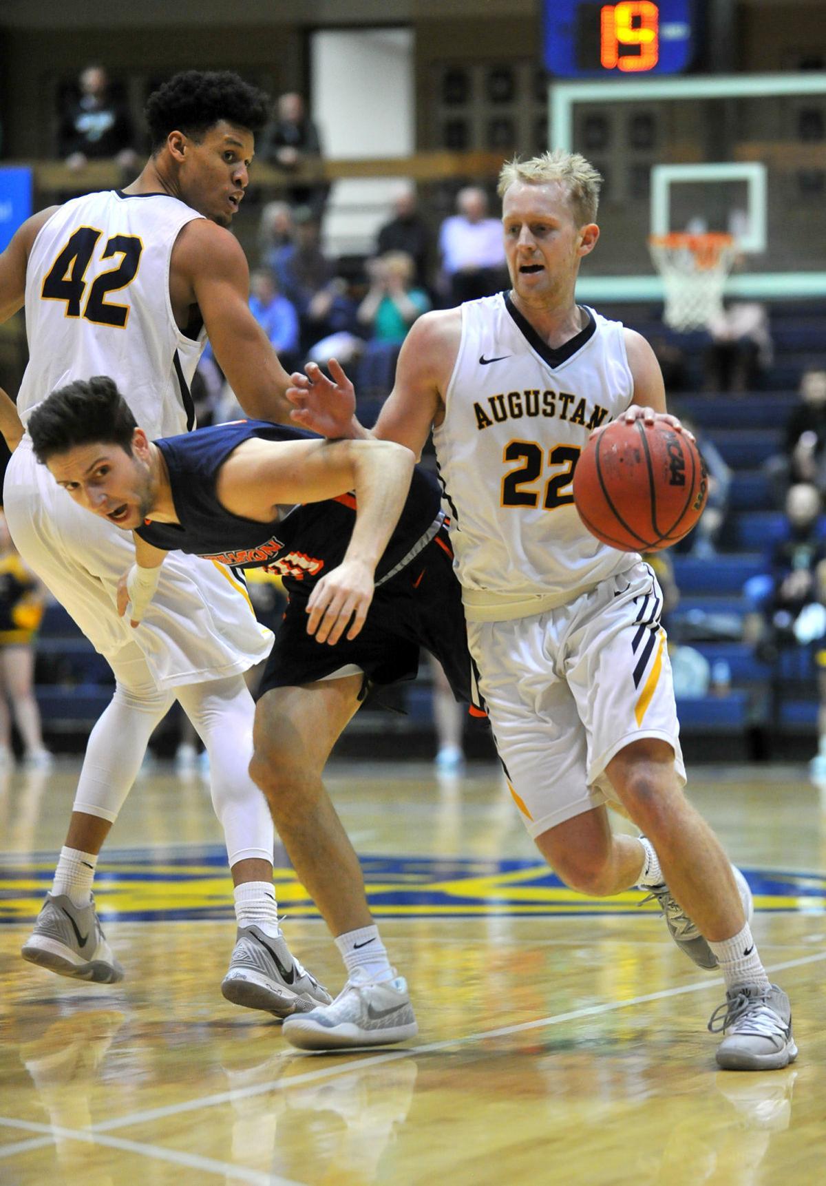 Augustana vs Wheaton men's basketball