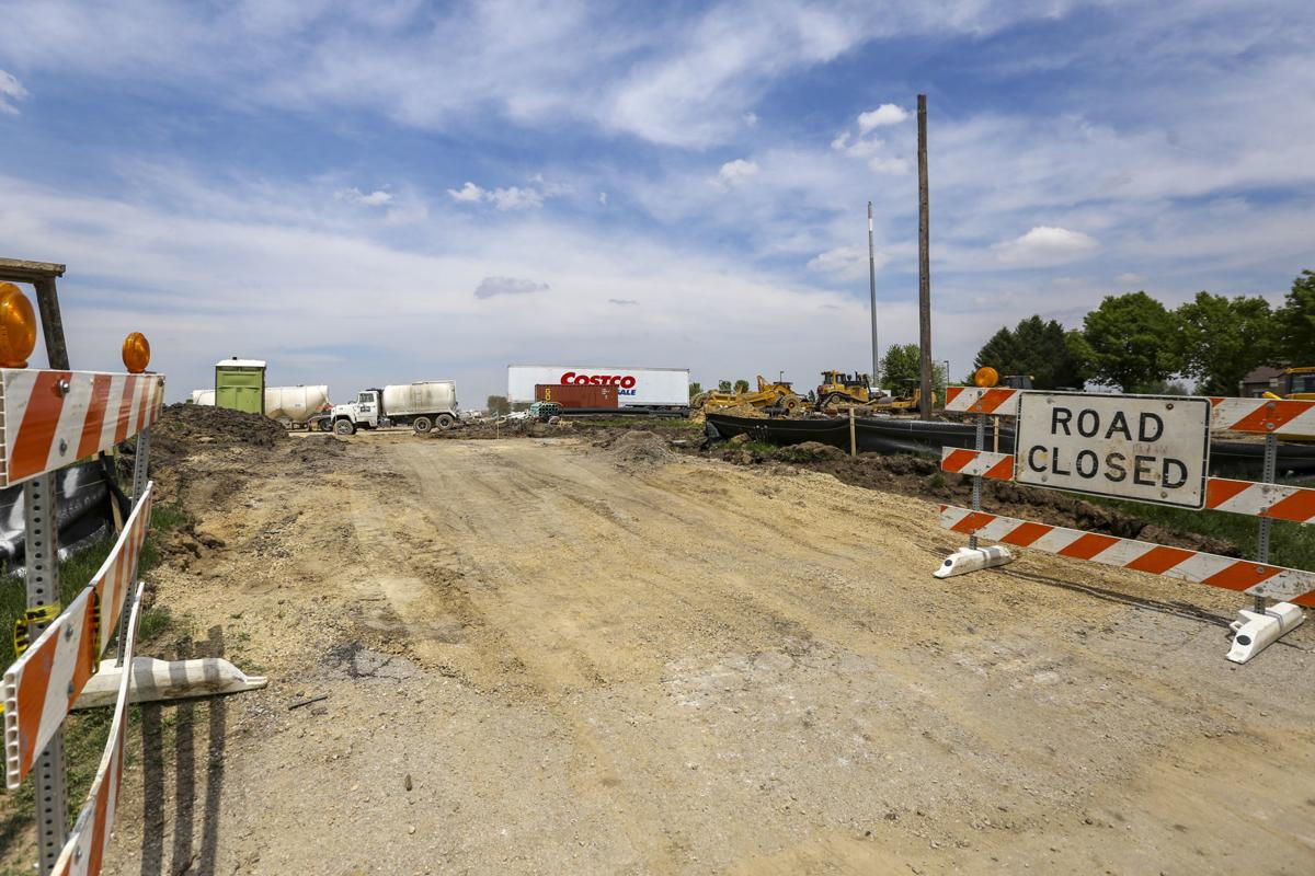 Road To Development With Costco Construction Underway Davenport