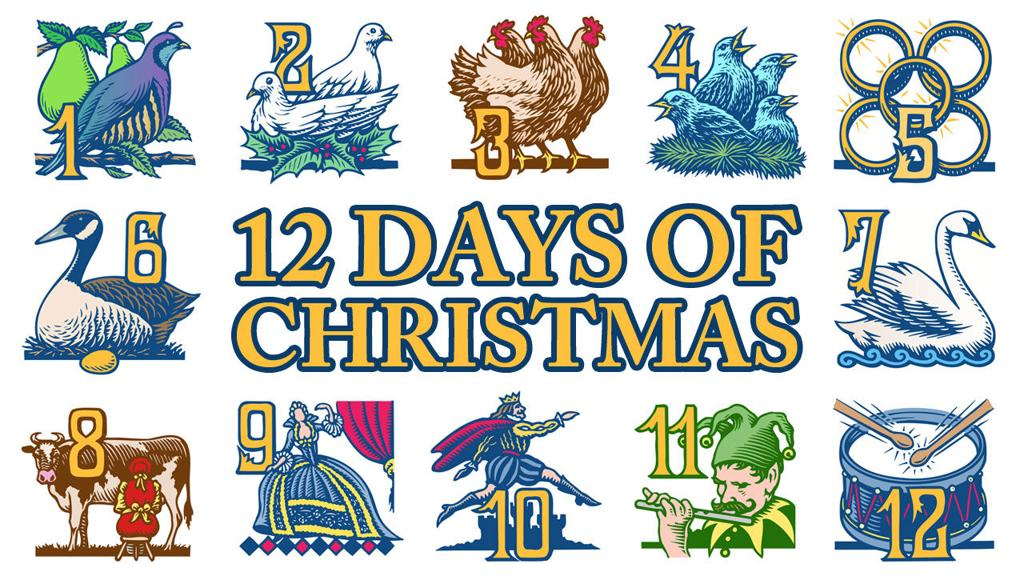 12 days of christmas items cost more than 116000 - 12 Days Of Christmas Cost