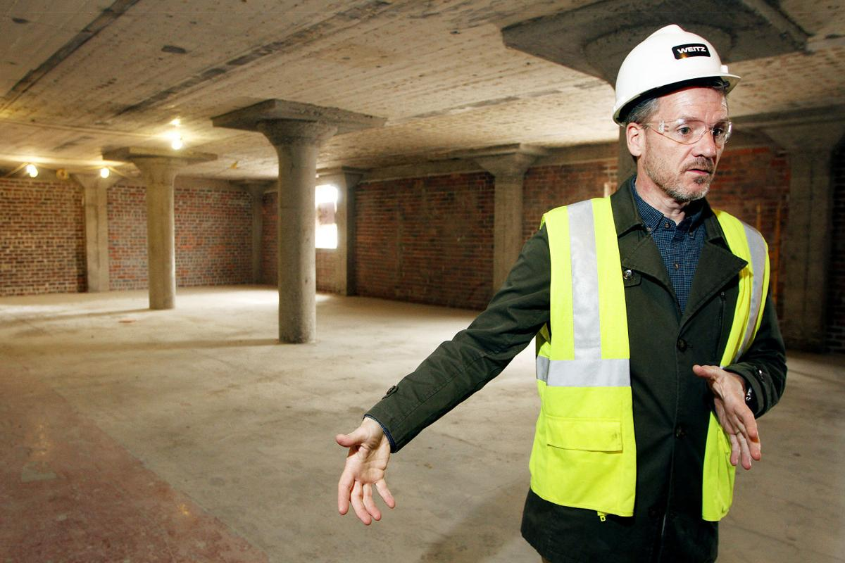 Construction advances on Moline train station | Economy | qctimes.com