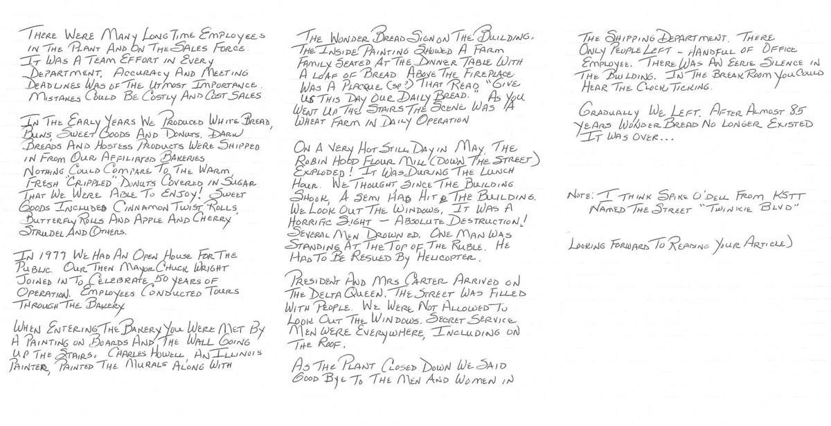 Susie Bolwar Letter