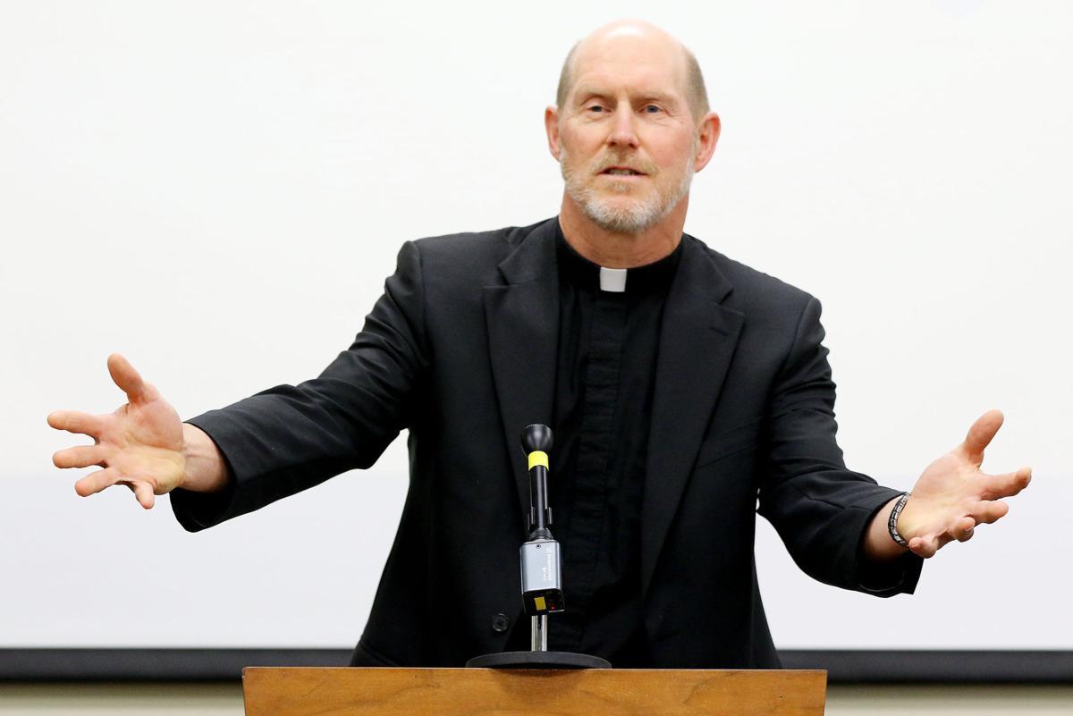 Bishop-elect Thomas Zinkula