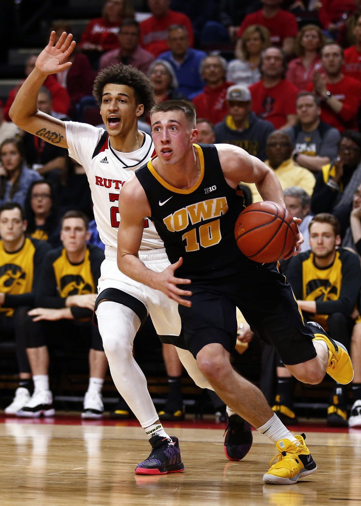 Iowa Rutgers Basketball
