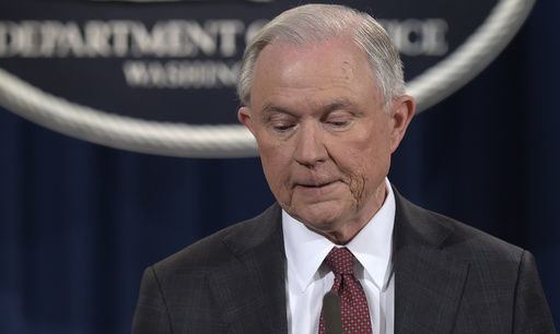 Russia says US infighting on Sessions hampers mending ties