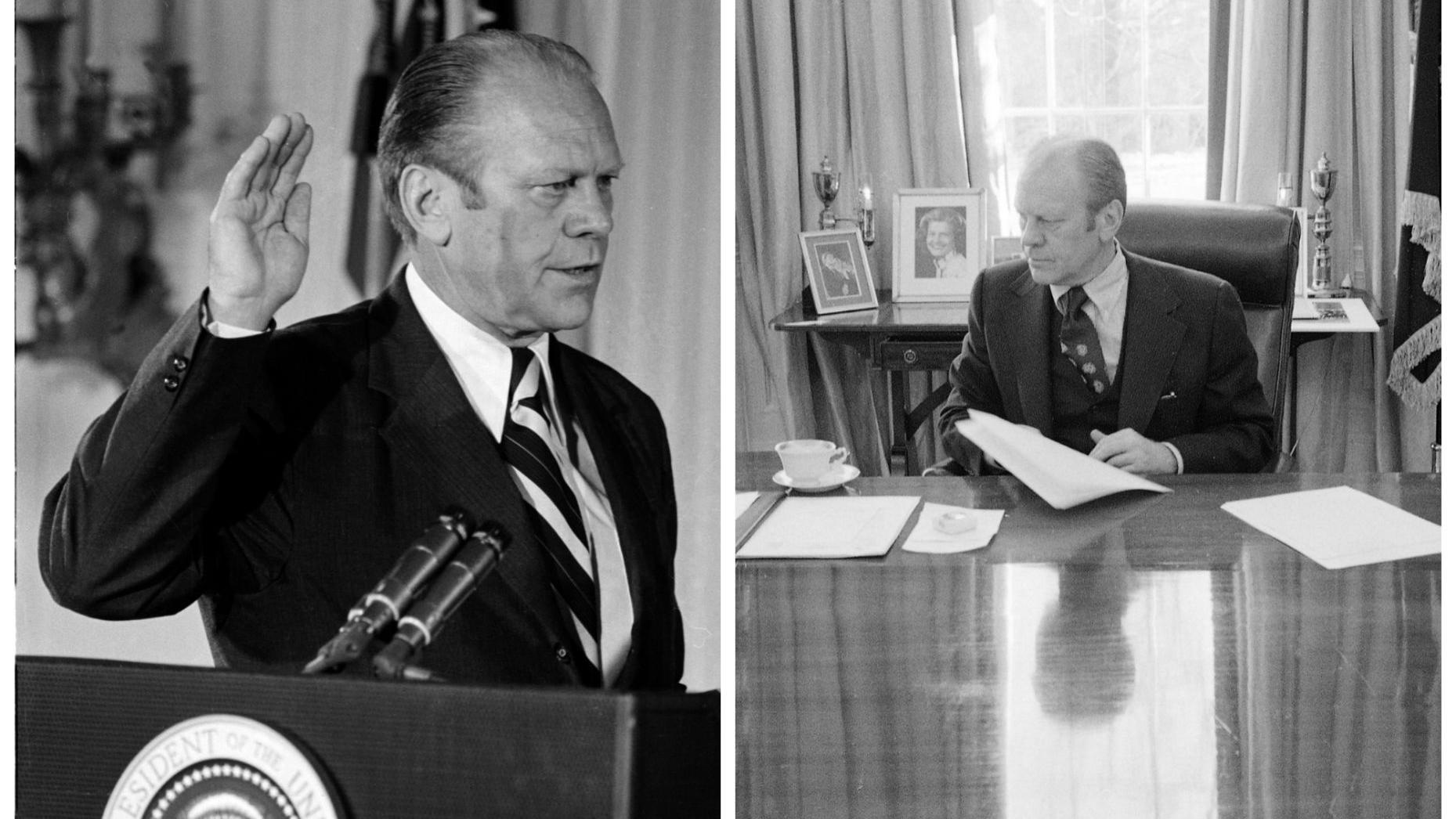 gerald r ford research paper Presidency of gerald ford president gerald r ford kissinger voiced the concern that the north would see the us as the paper tigers of saigon if they did.