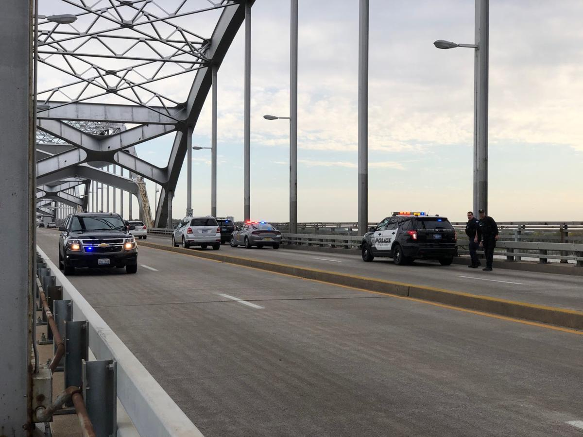 Police respond to report of man in the water