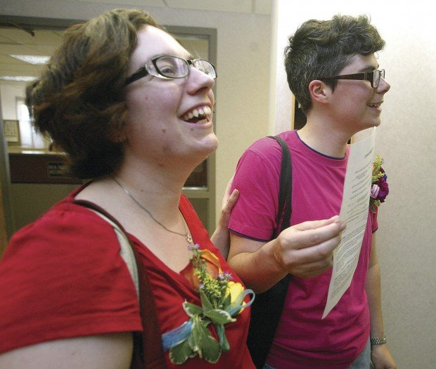 Couple Denied In Illinois Marches To Iowa To Get A