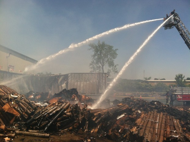 City Carton fire