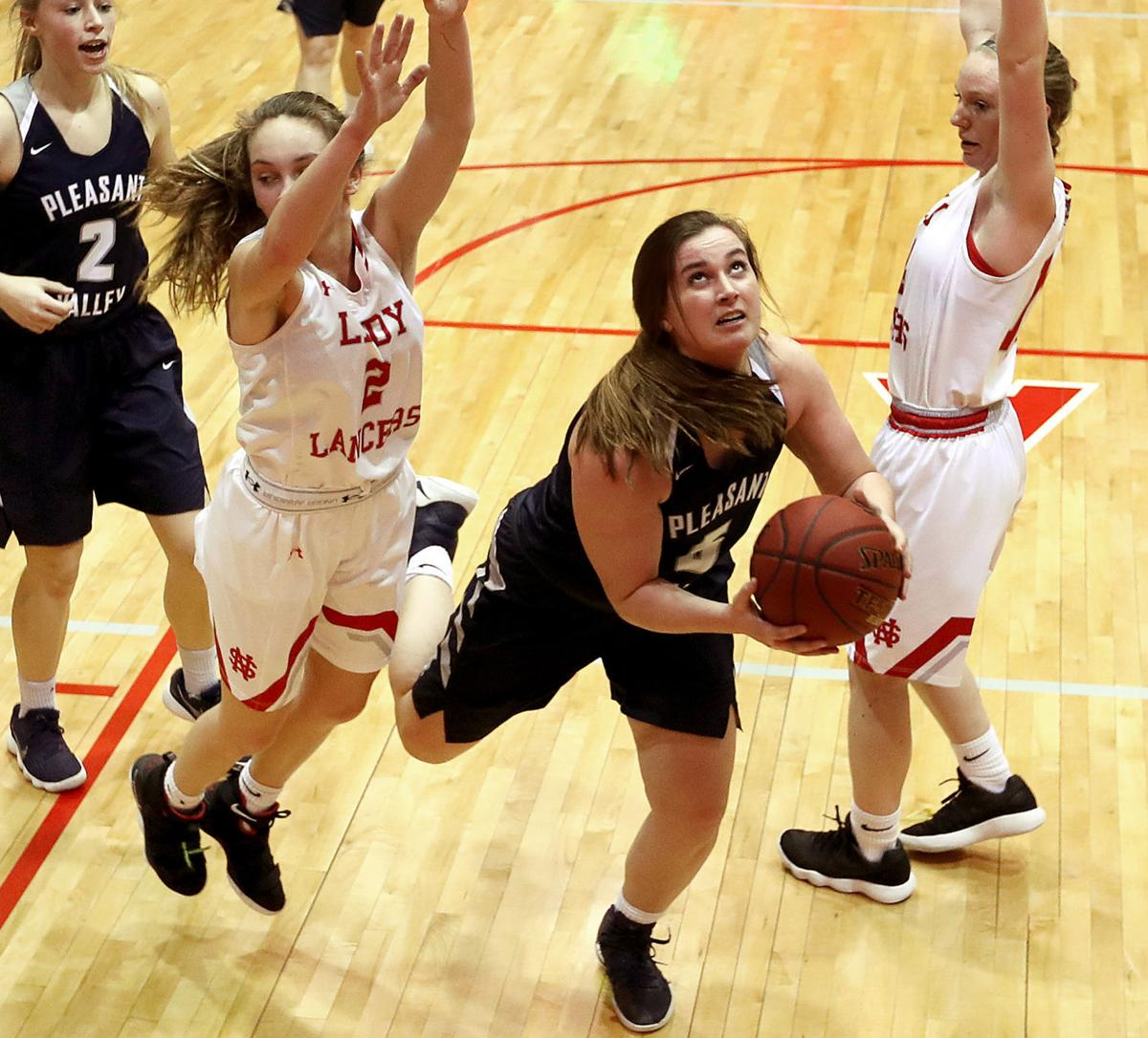 Lancers hand Spartans first loss, jump into first-place MAC