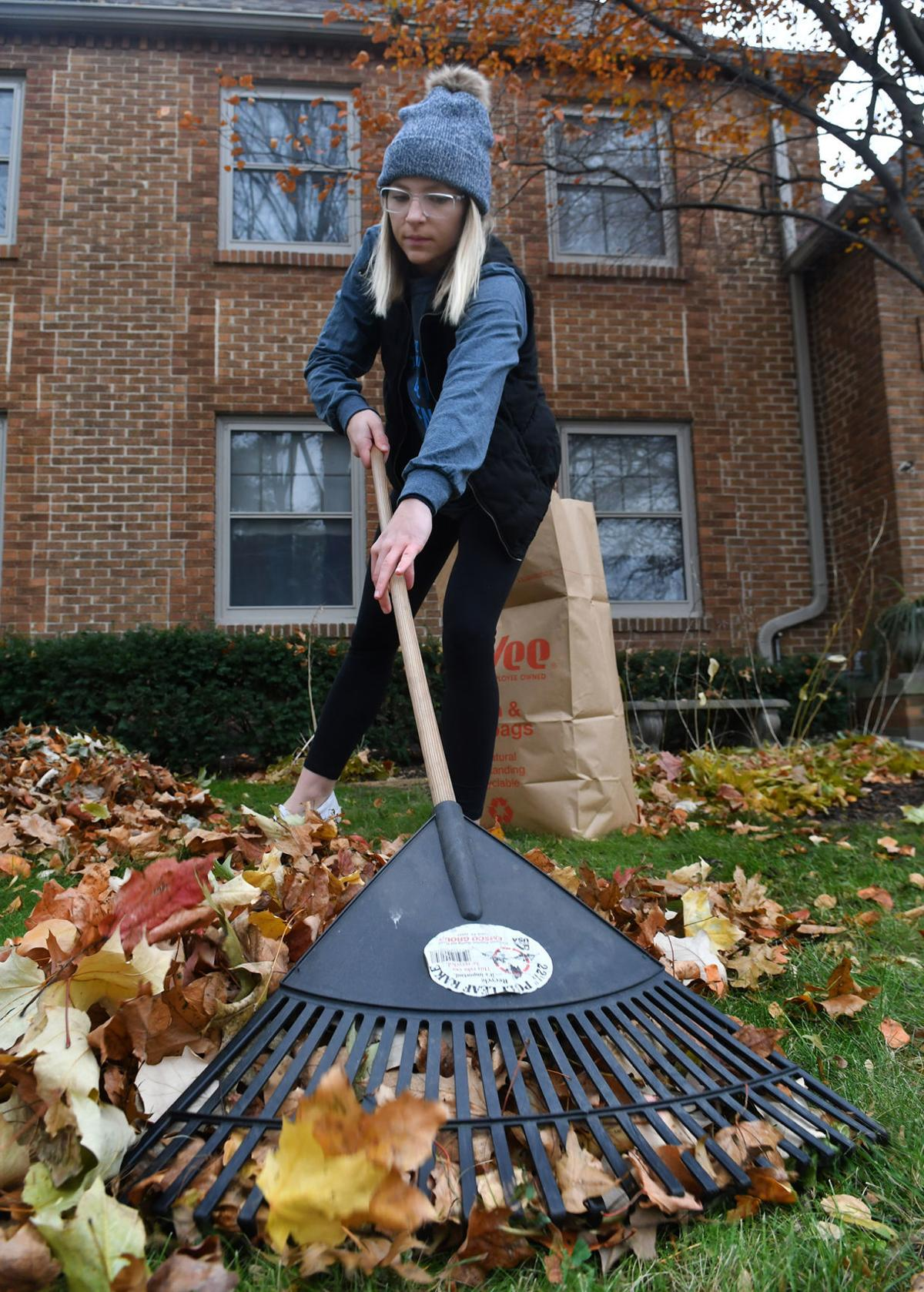 Bee the Difference Day for St. Ambrose University students.
