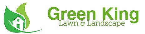 green king lawn and landscape logo