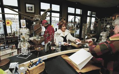 Shoppers flock to LeClaire for holiday gifts