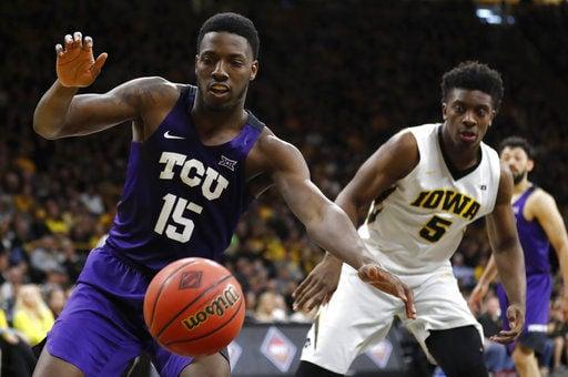 NIT TCU Iowa Basketball