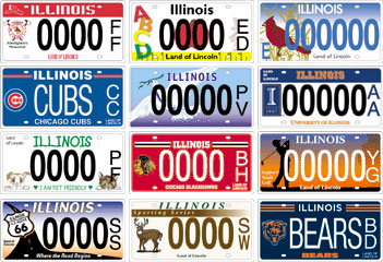 News Plates Would Proposals License Qctimes com Illinois Create Specialty More