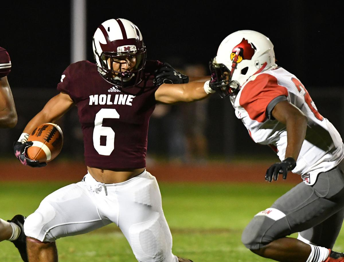 Moline vs Alton football
