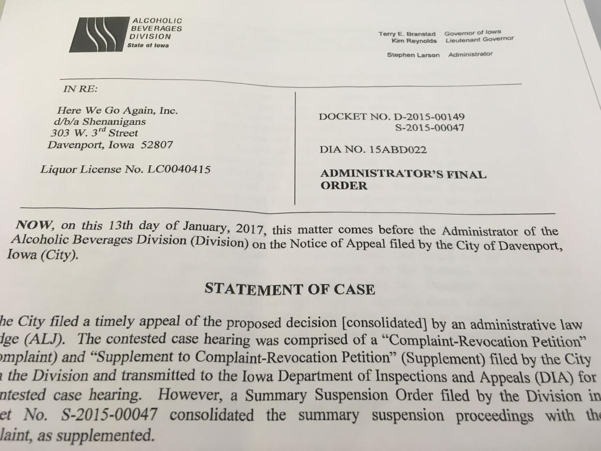 ABD administrator's final order