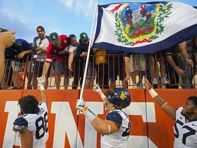 West Virginia Texas Football