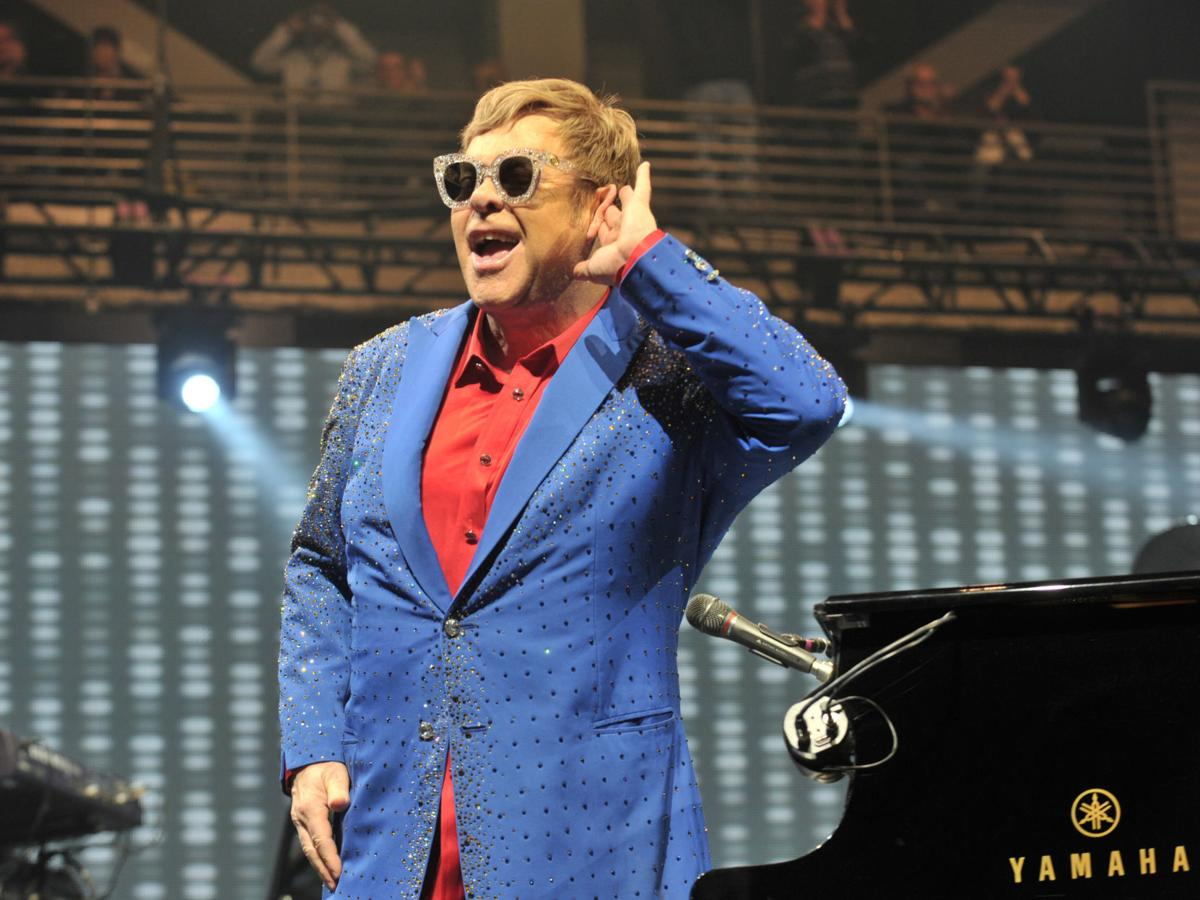 Elton John at the TaxSlayer Center