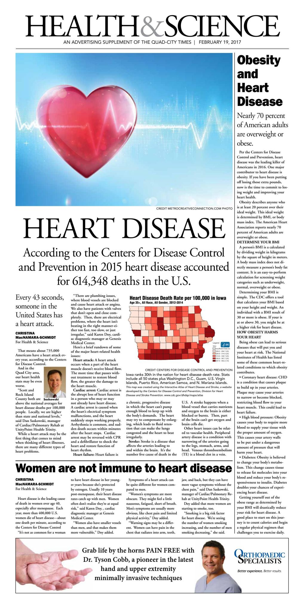 Health & Science Advertising Supplement 2-19-17