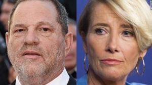 Emma Thompson's outburst over Harvey Weinstein