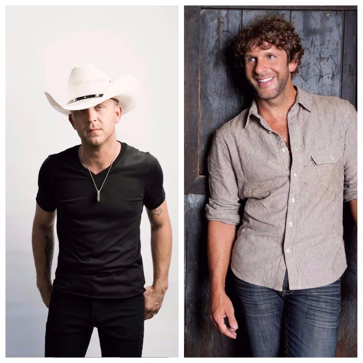 Billy Currington And Justin Moore To Play Mississippi Valley Fair