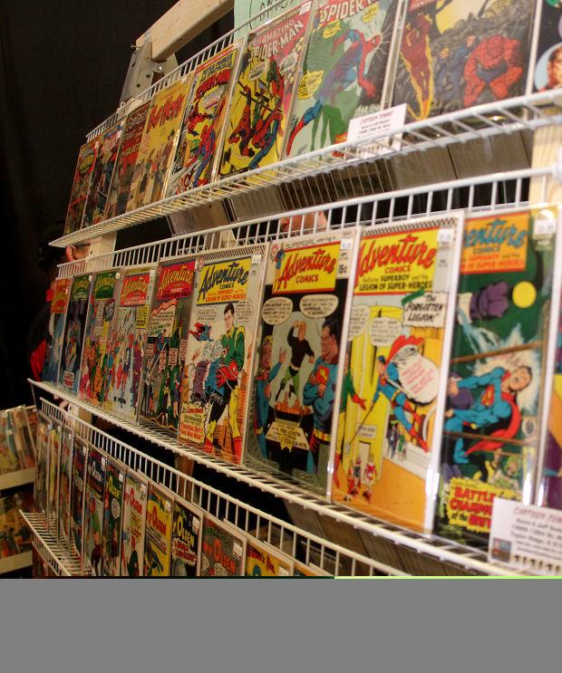 Comic book convention brings out Q-C fans