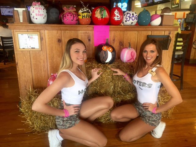 Hooters Girls and breast cancer
