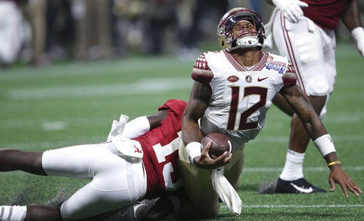 AP Source: Florida State QB Francois to miss rest of season