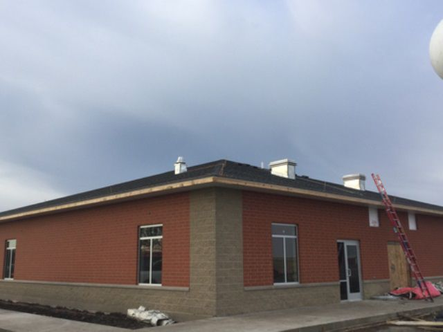 New exterior of the National Weather Service, Davenport