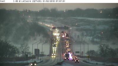 Update: Slick bridges, crashes, E  53rd Street at railroad