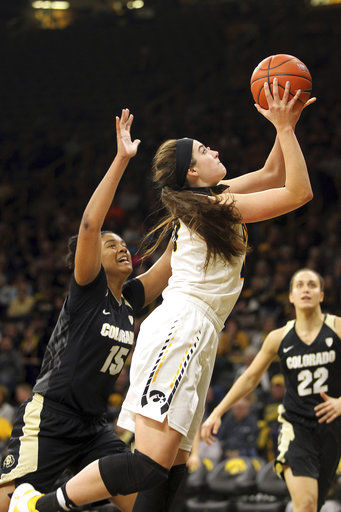 WNIT Colorado Iowa Basketball