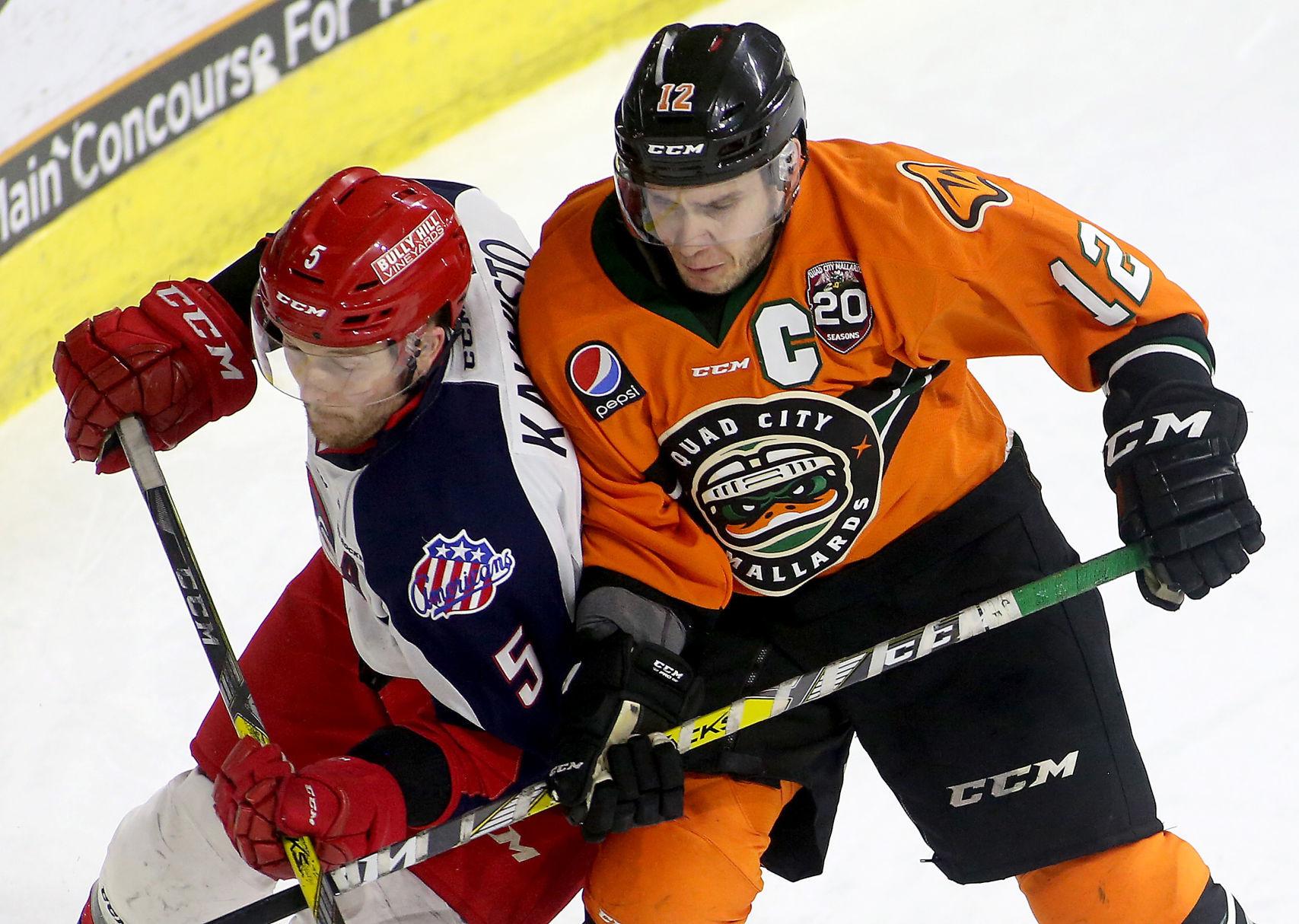 ECHL: Mallards Trade Francis To Orlando | Quad-City Mallards Hockey | Qctimes.com