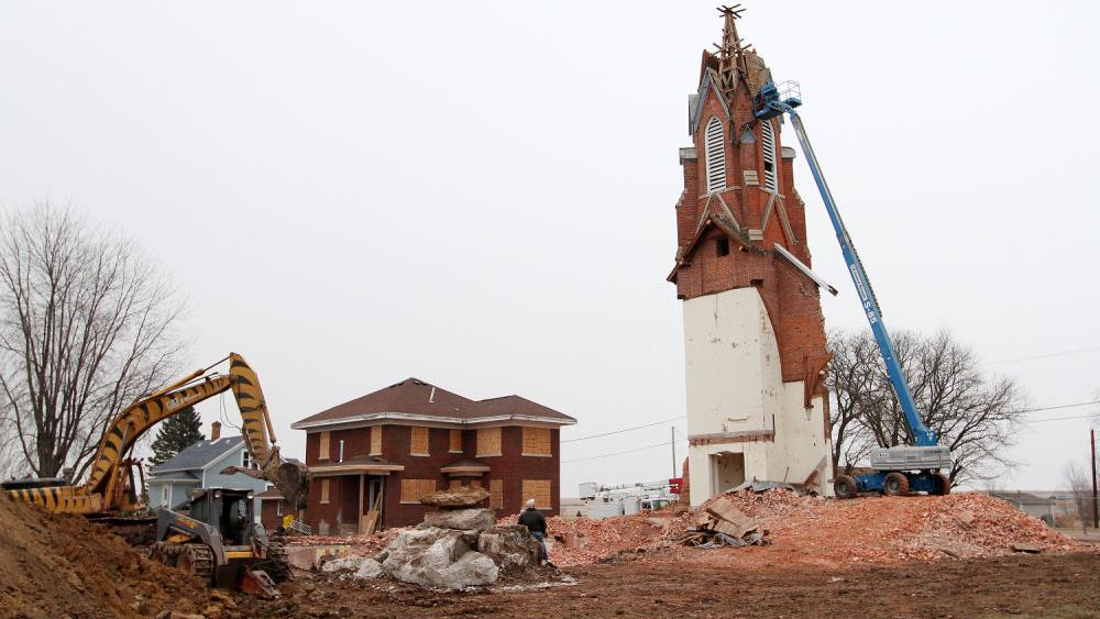 St Anne 39 S Catholic Church In Welton Coming Down Local News