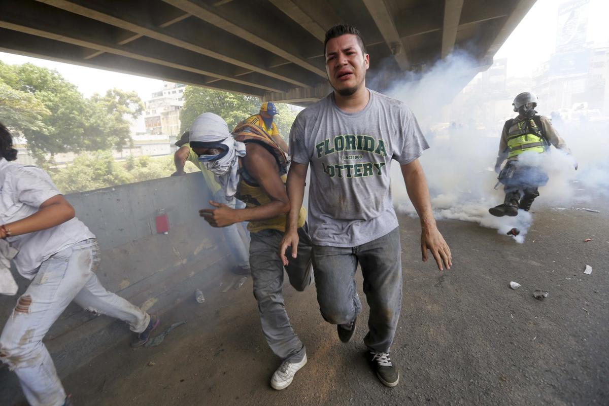 APTOPIX Venezuela Political Crisis