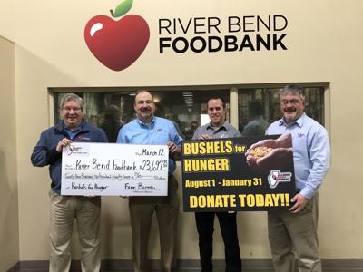 Bushels for Hunger donation