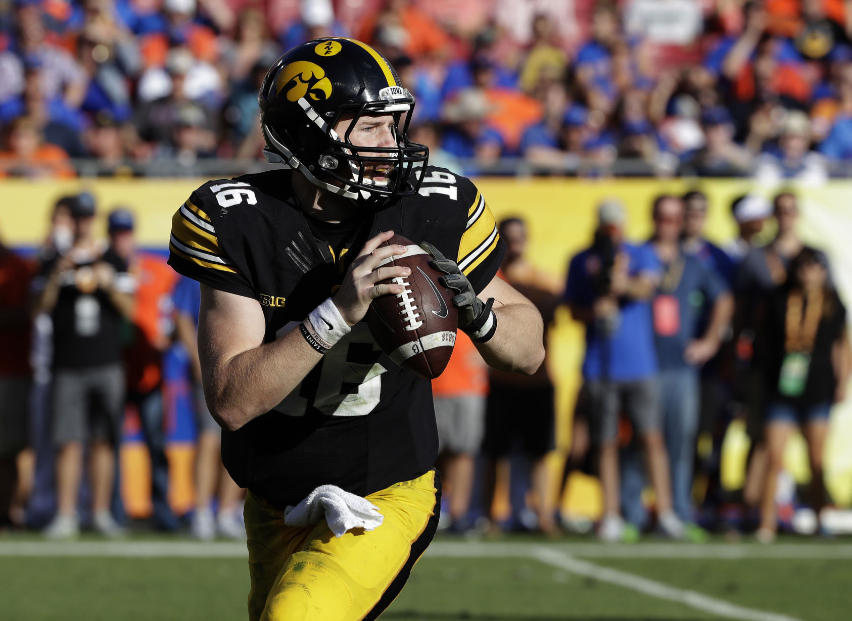 Outback Bowl Football Beathard surprises is first