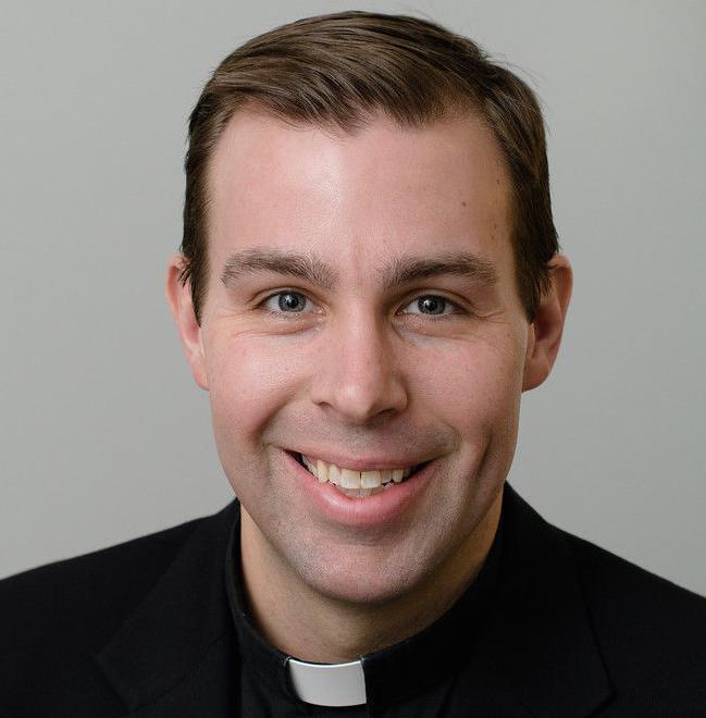 Rev. Brian Taber, Jesuit priest. 062417