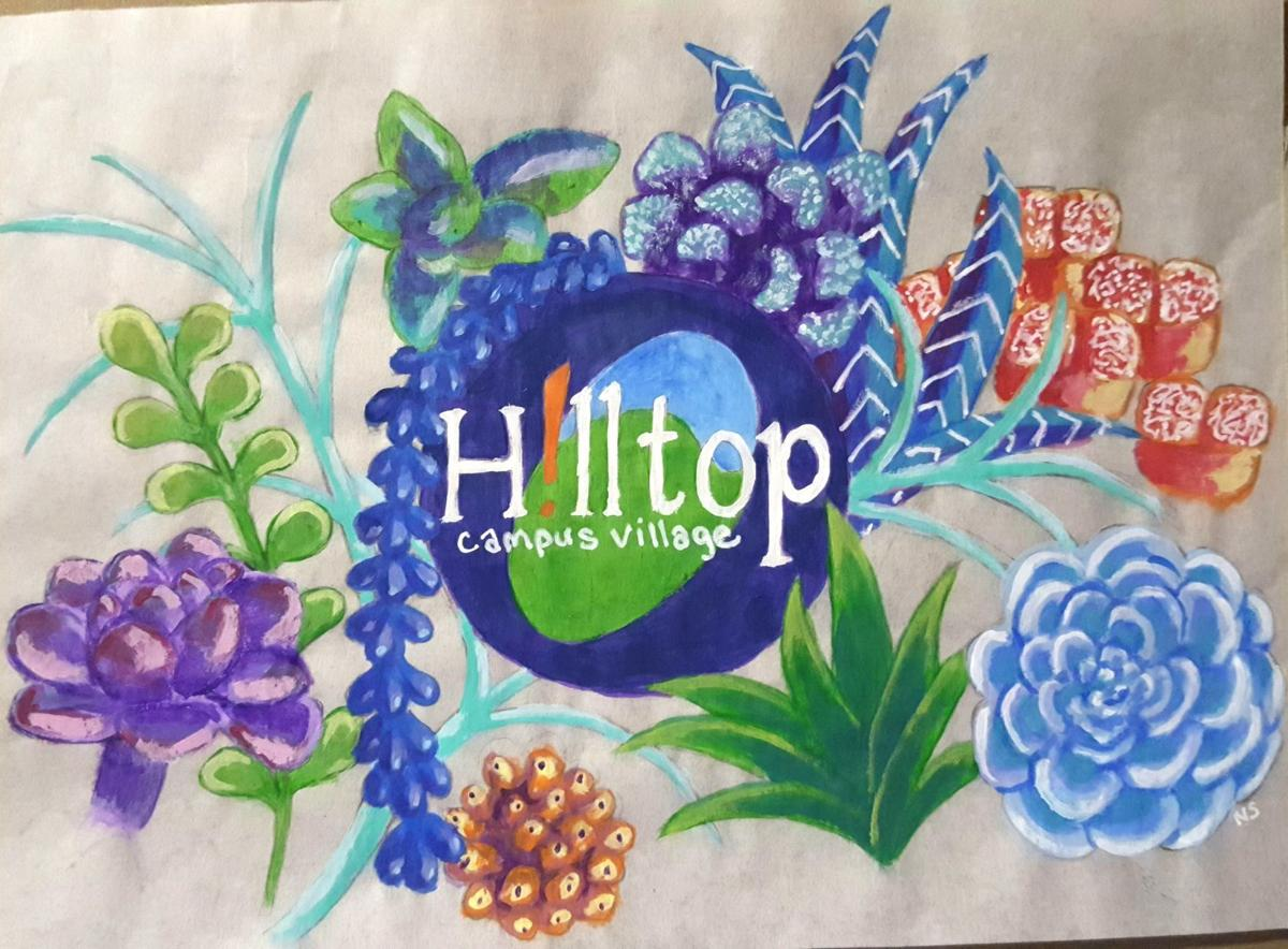 Hilltop Business Association selects Bettendorf artist's rendering for wall mural project