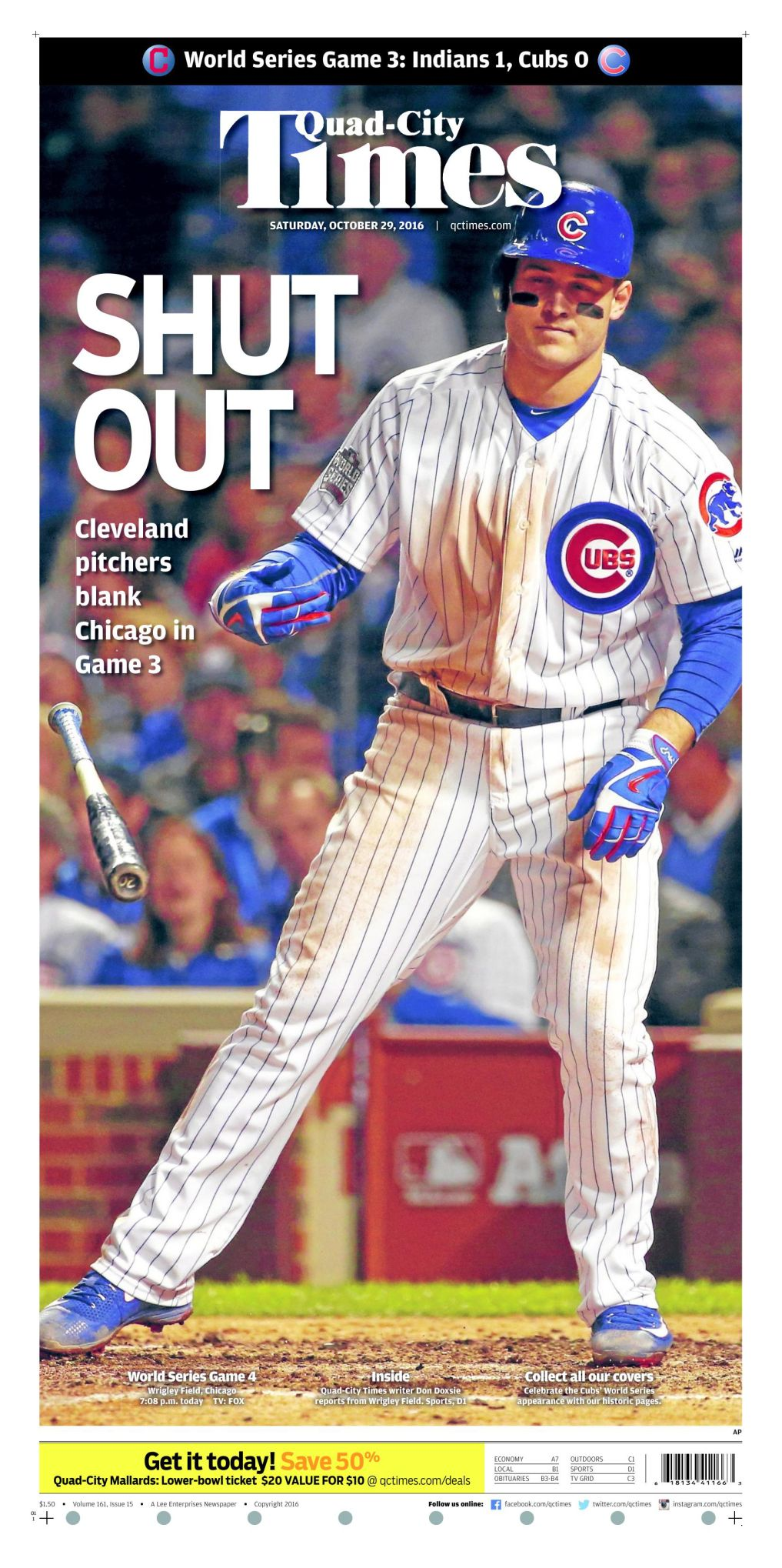 Chicago Cubs 2019 TV schedule | Baseball | qctimes com