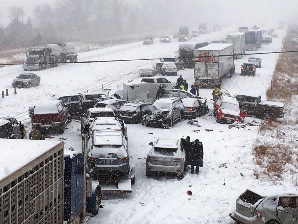 Wintry Weather Crashes