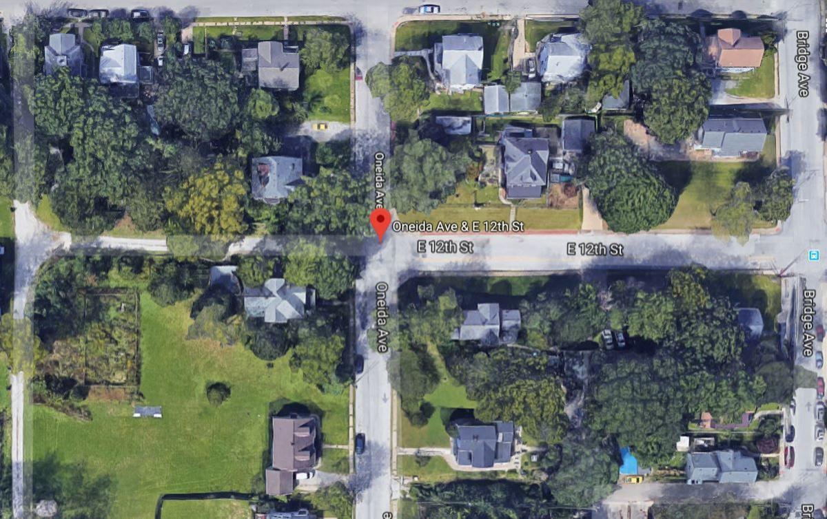 Oneida Avenue and E. 12th Street, Davenport