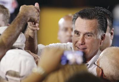 Romney in Bettendorf