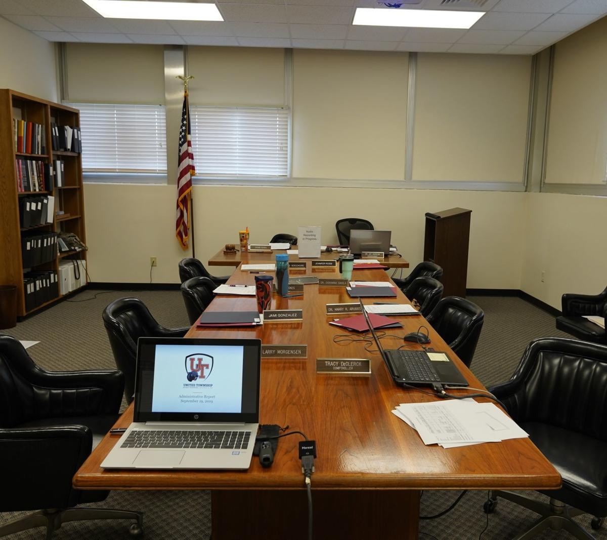 United Township High School board meeting, Mon., Sept. 9, 2019