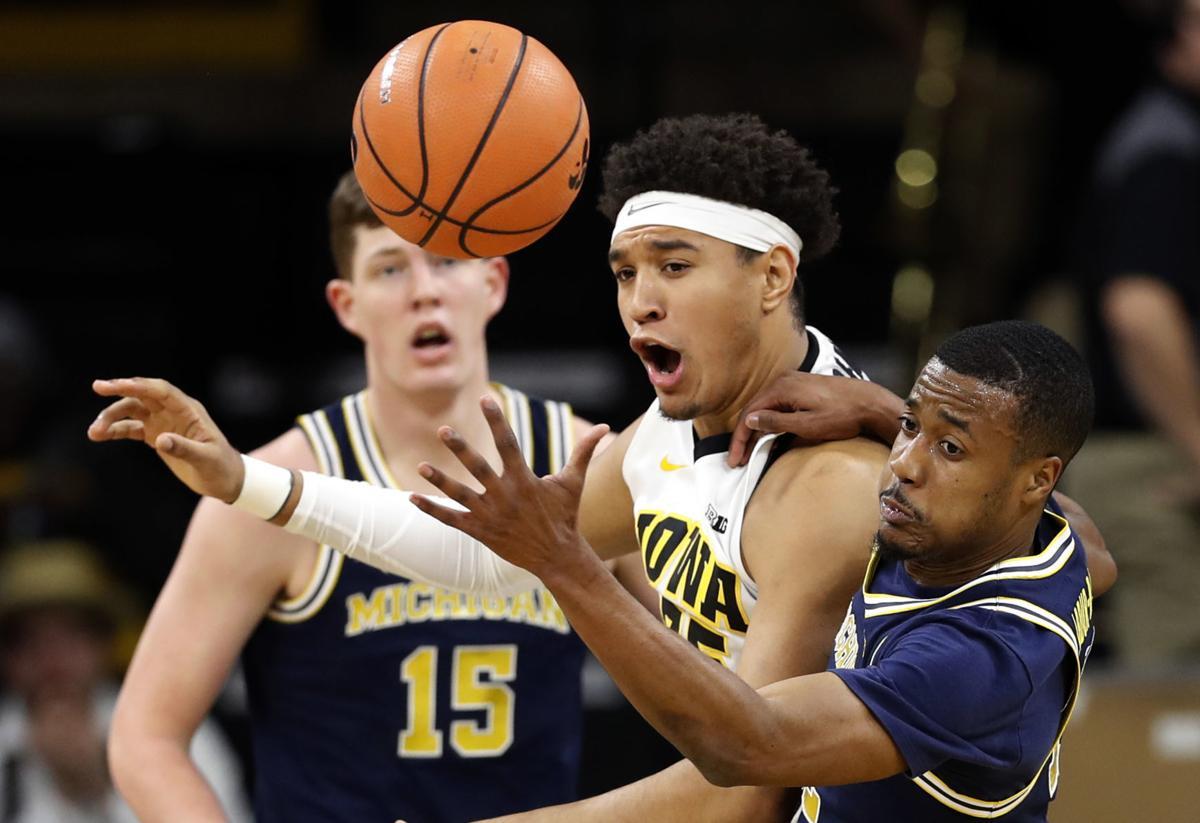 Michigan Iowa Basketball