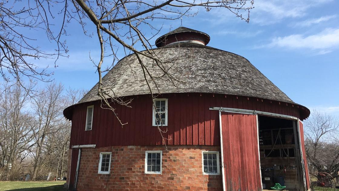 Davenport round barn included in film | Home and Garden ...