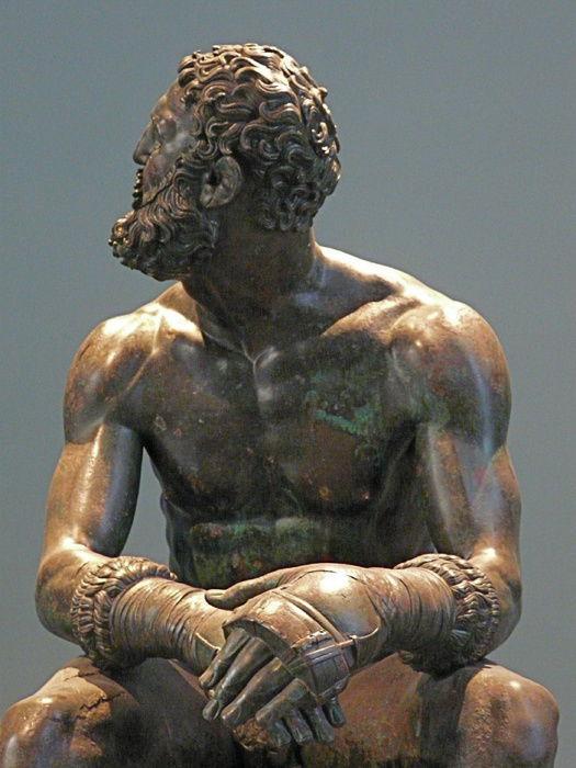 The bronze Boxer of Quirinal