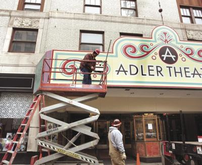 Adler marquee