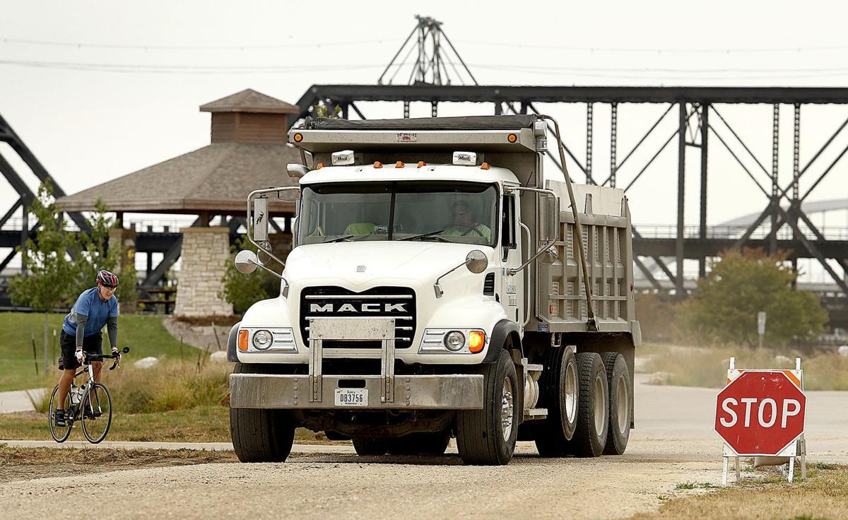 photos first bridge project local news qctimes com